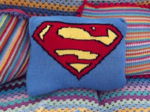 Superman-cushion